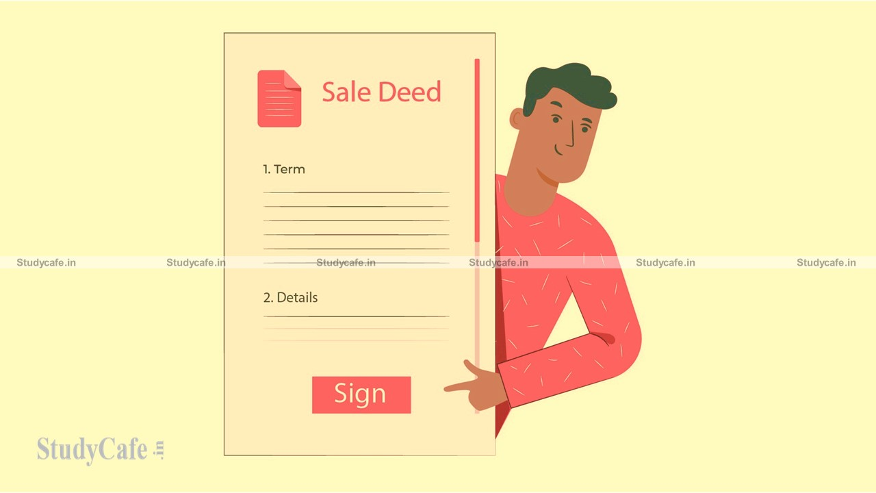The facts mentioned in the sale deed cannot be the ground for availing Capital gain exemption