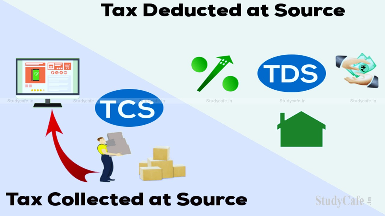 TDS AND TCS PROVISIONS UNDER INCOME TAX