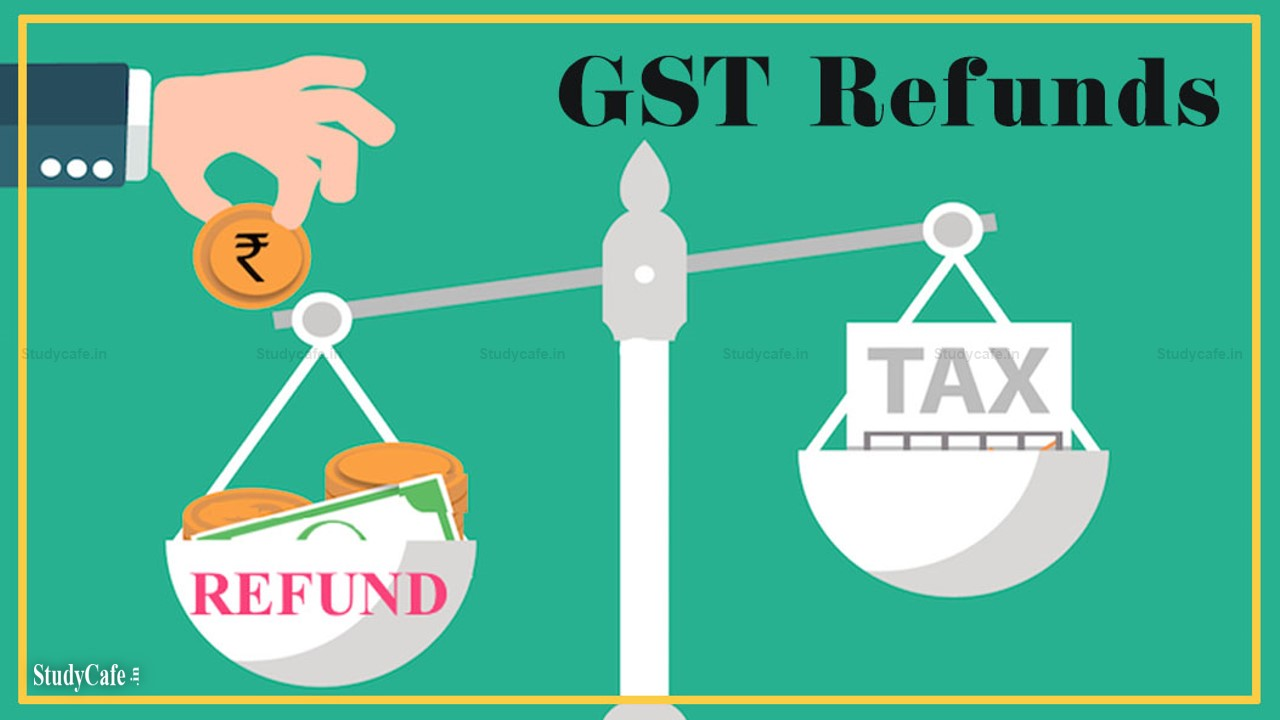WHAT IS THE PROCEDURE TO CLAIM GST REFUND?